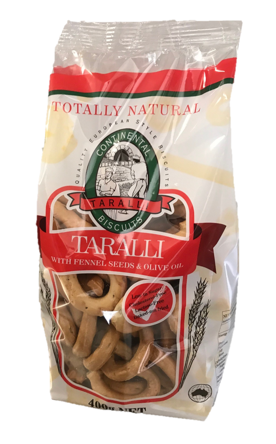 Taralli With Fennel Seeds & Olive Oil 400g | Our United Food Co Aust